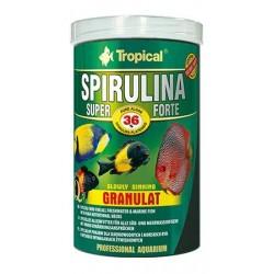 Alimento Espirulina forte 36% granulado de Tropical