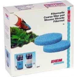 Esponjas Azules para Eheim Classic 250-2213