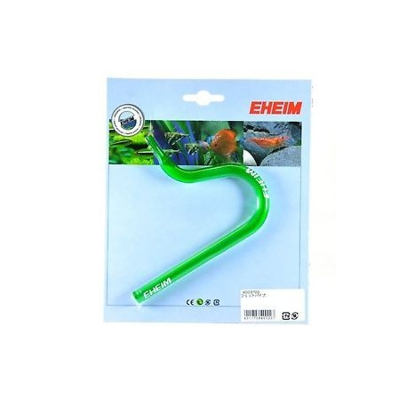 Codo Flauta de salida de boca plana para tubos 12/16 de Eheim