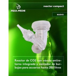 Reactor para CO2 compact de Aquamedic