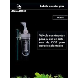 Válvula contador de burbujas de Aquamedic