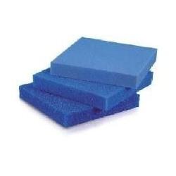 Foamex Placa de esponja azul de 50x50x5 cm para filtros